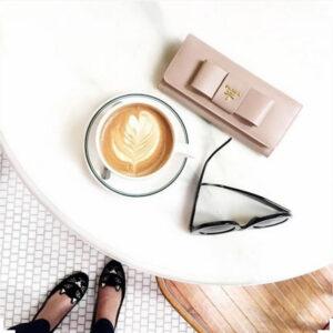 flay lay cafe coffee mood
